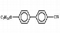 4-n-heptyloxy-biphenylcarbonitrile