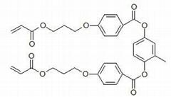 4-(3-丙烯酰氧基丙氧基)苯甲酸 2-甲基-1,4-苯酯