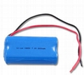 Li-Ion 18650 7.4V 2000mAh rechargeable
