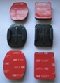 3pcs Flat+3pcs Curved Adhesive Mounts 4