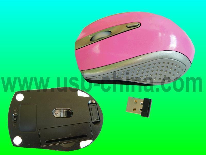 high quality mini 2.4G wireless mouse (nano receiver) 1