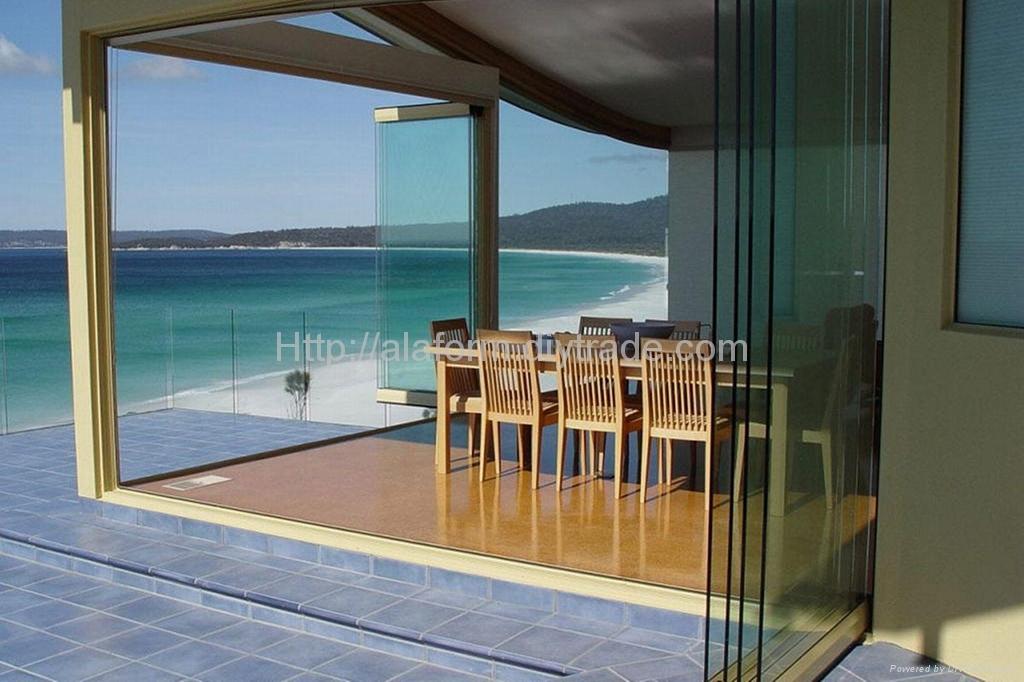 for Floor to ceiling folding glass doors