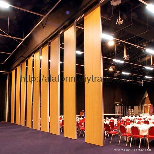Horizontal & Folding  Sliding Automatic Partitions Systems 3