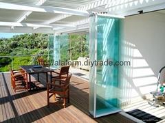 Custom All Glass Slide & Turn Doors Systems