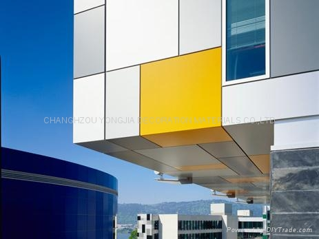 Curtain wall aluminium composite panel for building for Aluminium composite panel interior decoration