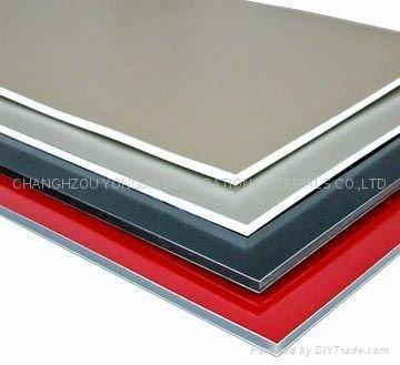Pvdf aluminum composite material acm am 4104 for Aluminium composite panel interior decoration