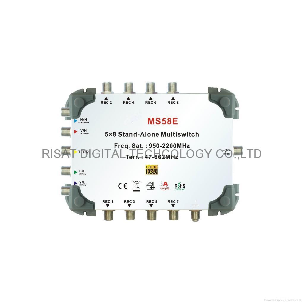 5x8 multiswitch ms58e risat china manufacturer. Black Bedroom Furniture Sets. Home Design Ideas