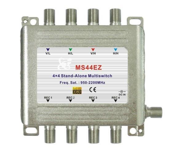 4x4 multiswitch