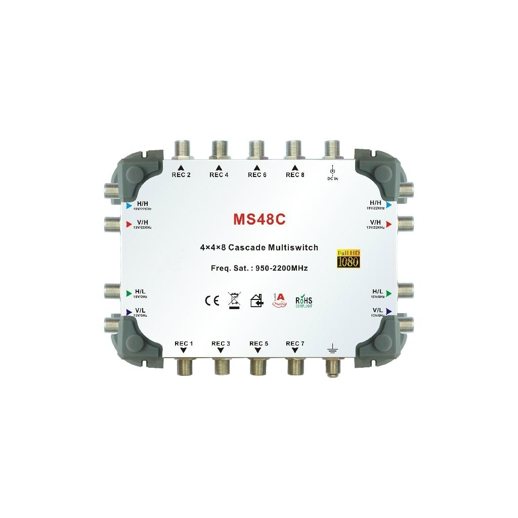 4 IN 8 OUT CASCADE MULTISWITCH
