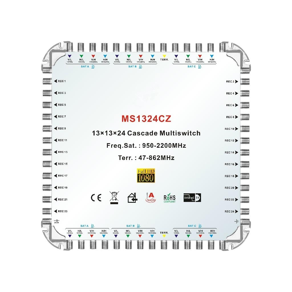 13 IN 24 OUT CASCADE MULTISWITCH