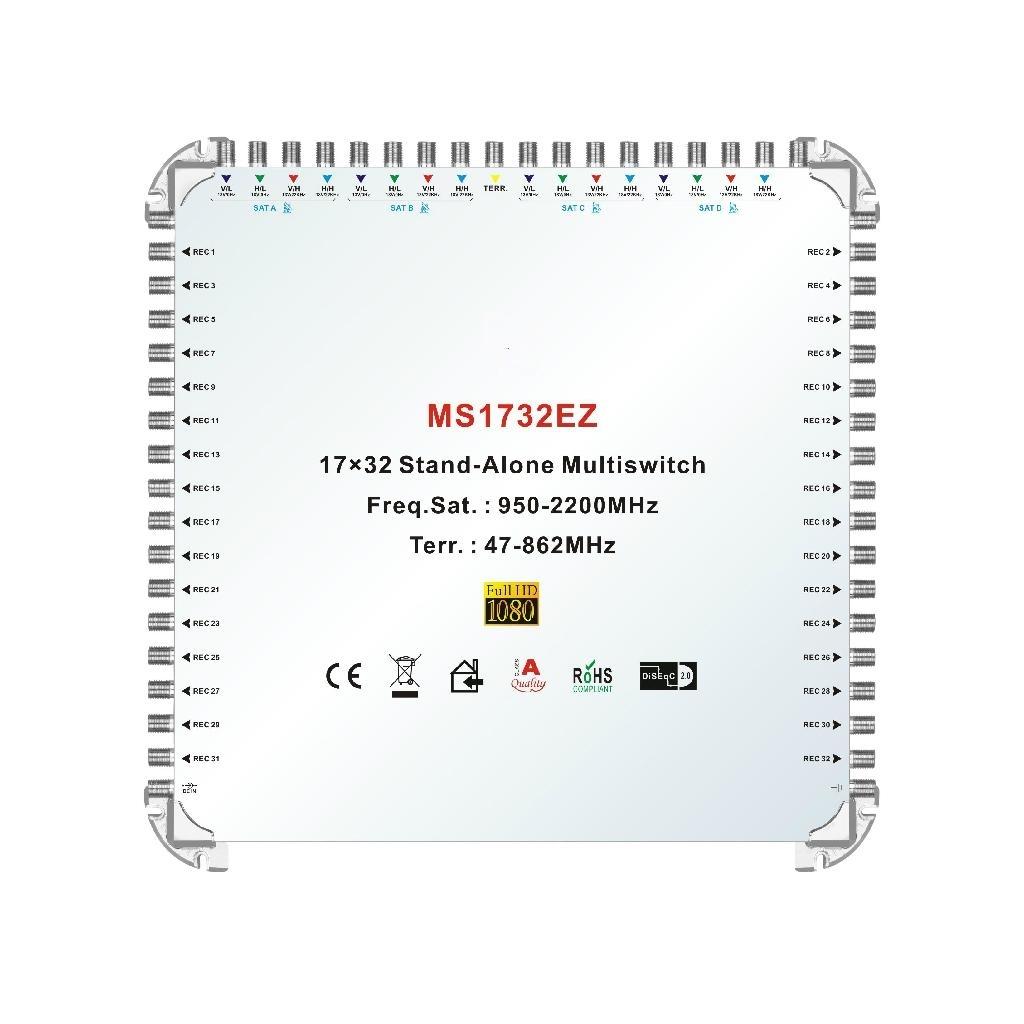 17X32 SATELLITE MULTISWITCH