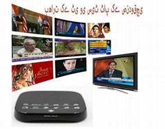 HD INDIA / PAKISTANI / BANGLA LIVE TV IPTV BOX ANCLOUD BOX (Hot Product - 1*)