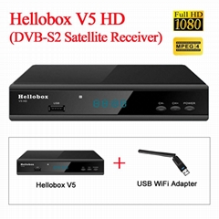 HELLOBOX V5  open GSAT on SES7/9 in philippine (Hot Product - 1*)