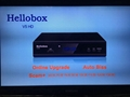 hellobox V5 satellite receiver auto open 105.5e/68.5e/66e all sony channels