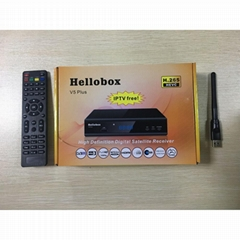HELLOBOX V5+ RELEASE NEW SOFTWARE V20181103 FIX Asiasat7 105.5E POWERVU SANY (Hot Product - 1*)