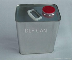 Rectangle Paint Cans