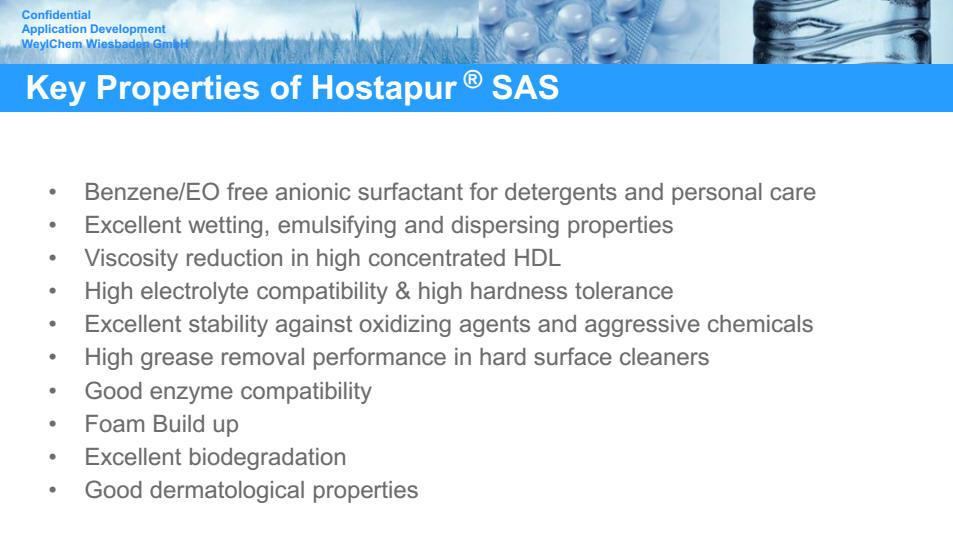Antistatic Agent  SAS-93 1