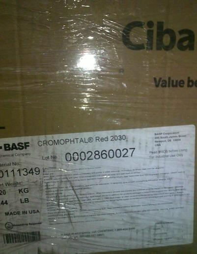BASF Irgazin Red K3840(CROMOPHTAL® Red 2030) 1