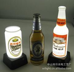 旭日專利產品 啤酒瓶 可樂罐吧臺燈 可貼logo廣告