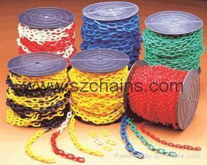 8MM塑料鏈條防護鏈隔離鏈塑膠鏈條 1