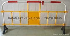 公路施工安全PVC塑胶护栏围栏