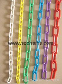 chains,Plastic chain, warning chains 1