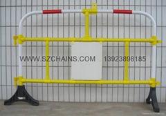 塑料护栏,塑料栅,防护栅,塑料铁马,塑料道栏,马路栏河,公路