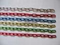 圓型圓環公仔塑料鏈條