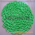 Plastic chains Plastic stanchions Caution Chains warning chains Link Chains 2