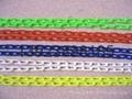 塑料链条,警示链,塑胶链,胶链,塑料警示链条、警示链条、PVC链条