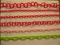 Plastic chains Plastic stanchions Caution Chains warning chains Link Chains 3