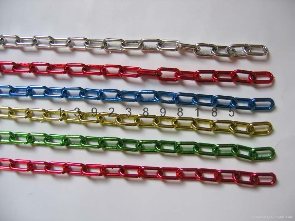8MM紅白相間塑料鏈條MCC 3