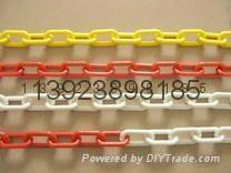 8MM紅白相間塑料鏈條MCC 4
