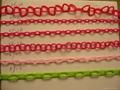 塑料链条,警示链,塑料警示链条、警示链条、PVC链条、防护链条