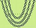圆形链条,饰品链,玩具链,塑胶链条