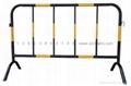 施工鐵馬交通鐵馬烤漆鋼管加工程級反光膜圖片