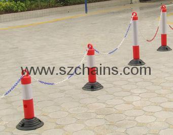 停車場用品反光標誌橡膠警示柱 1