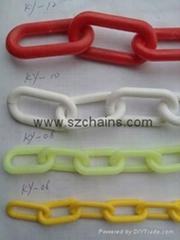 10MM塑料鏈高強工程塑料鏈塑膠鏈條塑料鏈條警示鏈 (熱門產品 - 1*)