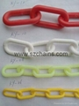 Plastic chains Plastic stanchions