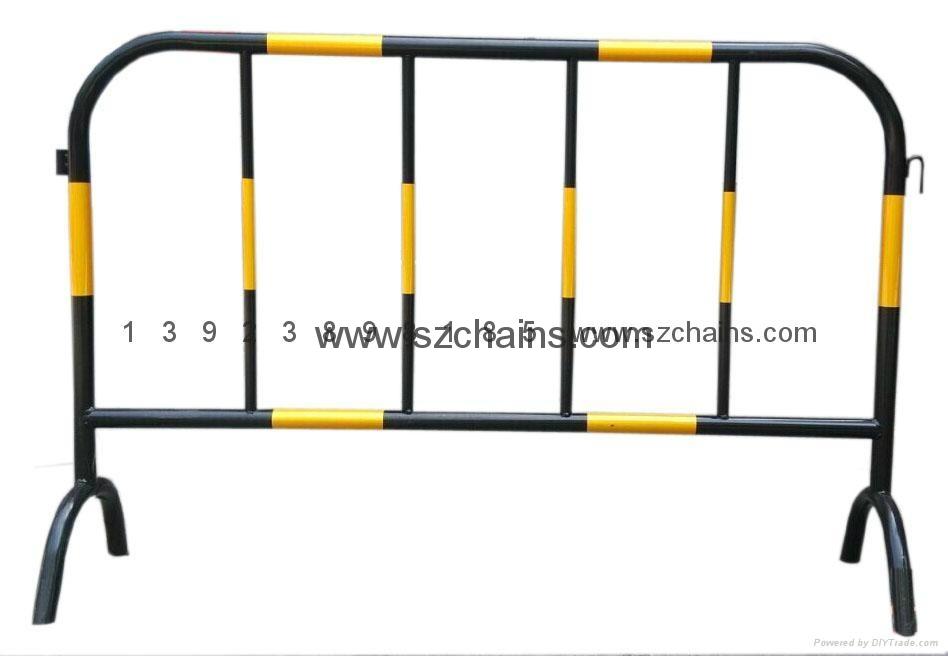 施工铁马交通铁马烤漆钢管加工程级反光膜图片 1