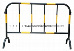 施工铁马交通铁马烤漆钢管加工程级反光膜图片