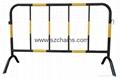 施工鐵馬交通鐵馬烤漆鋼管加工程級反光膜圖片 1