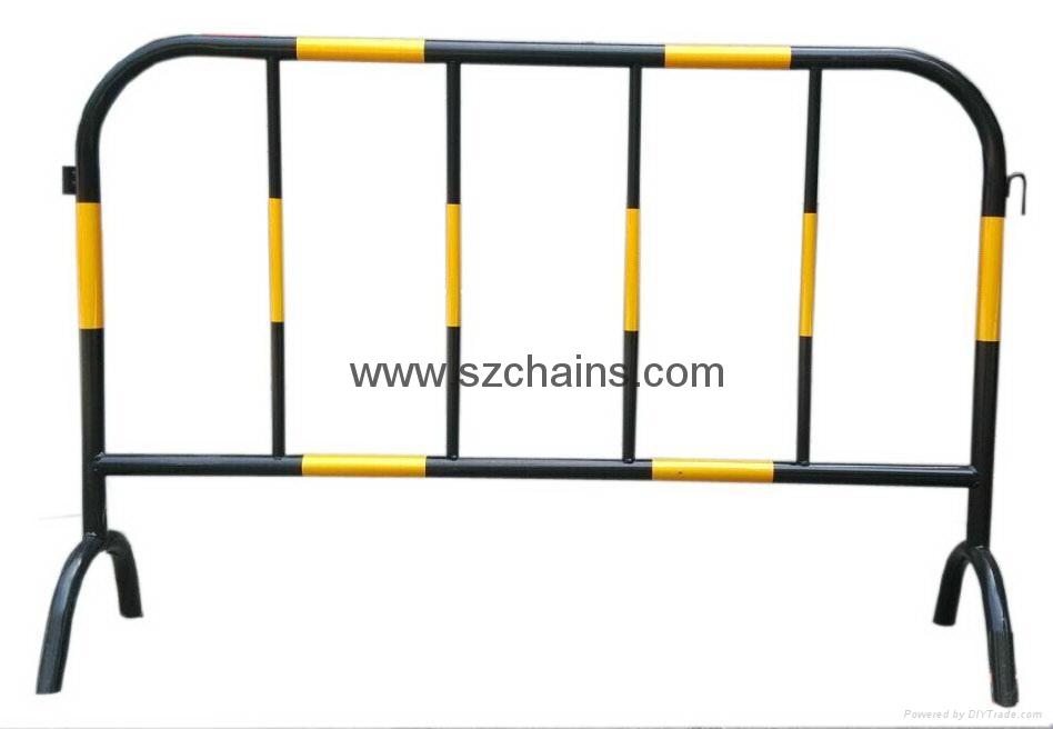 施工鐵馬交通鐵馬烤漆鋼管加工程級反光膜圖片 2