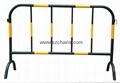 施工铁马交通铁马烤漆钢管加工程级反光膜图片 2