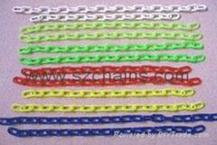 2MM塑料链条公仔链接配件