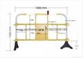 深圳科源道路施工设施PVC塑料护栏YY-360