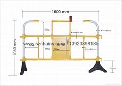 深圳科源道路施工设施PVC塑料护栏YY-360 (热门产品 - 1*)