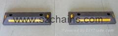 停车场用品PP橡胶倒车限位器