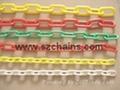 6MM交通锥塑料警示链PSP