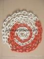 8MM交通安全标示彩色链条 1